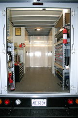 Fully equipped mobile service
