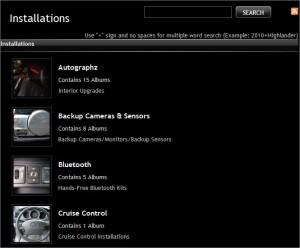 ADC Installation Photo Database