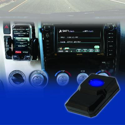 Bluefusion for Toyota. - Plays calls through the factory stereo system