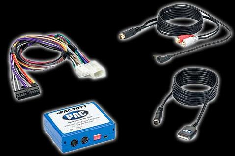PAC U-Pac Series iPod/AUX/HD Radio/Satellite radio adaptor