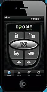 Drone iPhone app
